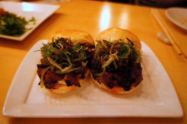 Spicy Pork Belly Sliders