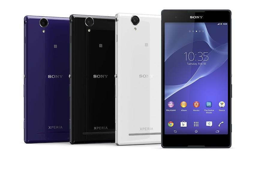 Sony Xperia T2 Ultra Dual - Spesifikasi Lengkap dan Harga