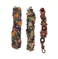 Freeform Beadwork Cuffs by Sue Sloan