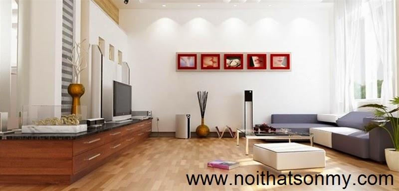 Mẫu thiết kế nội thất phòng khách 341