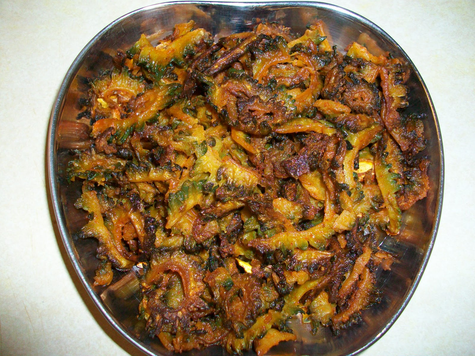 how to cook karela indian style