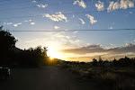 Und der obligatorische Sonnenuntergang...