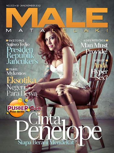 Majalah MALE Mata Lelaki Edisi Ketiga, Pincess Cinta Penelope