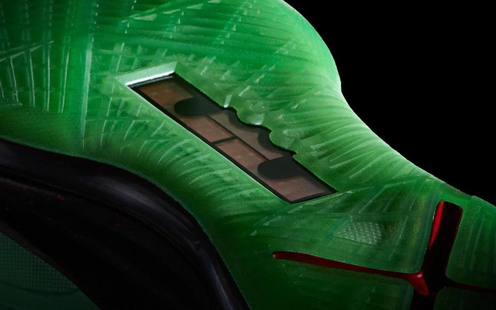 Nike LeBron 10 X Cutting Jade JR Jade China