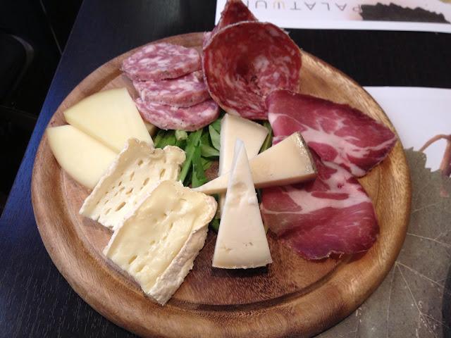peynir tabağı, Enoteca Palatium Roma