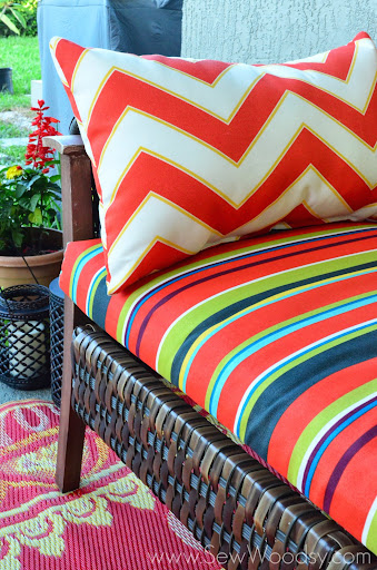 Summer Patio Refresh with @worldmarket via SewWoodsy.com #SummerFun #Decorating #Outdoor #Patio