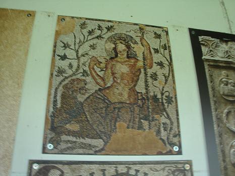 Дионис (мозаика, древний римский город Феликс Ромулиана)
