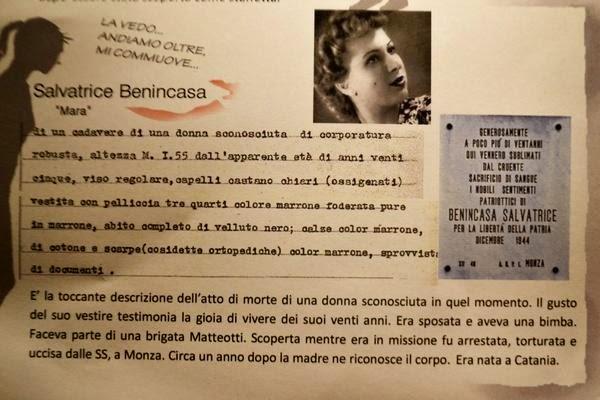Beatrice Benincasa, mostra UDI all'Archivio di Stato