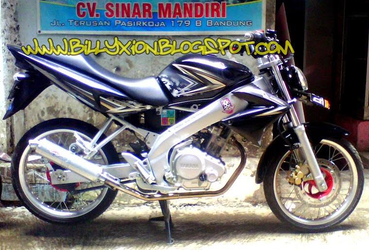 Modif Yamaha Vixion Jari Jari