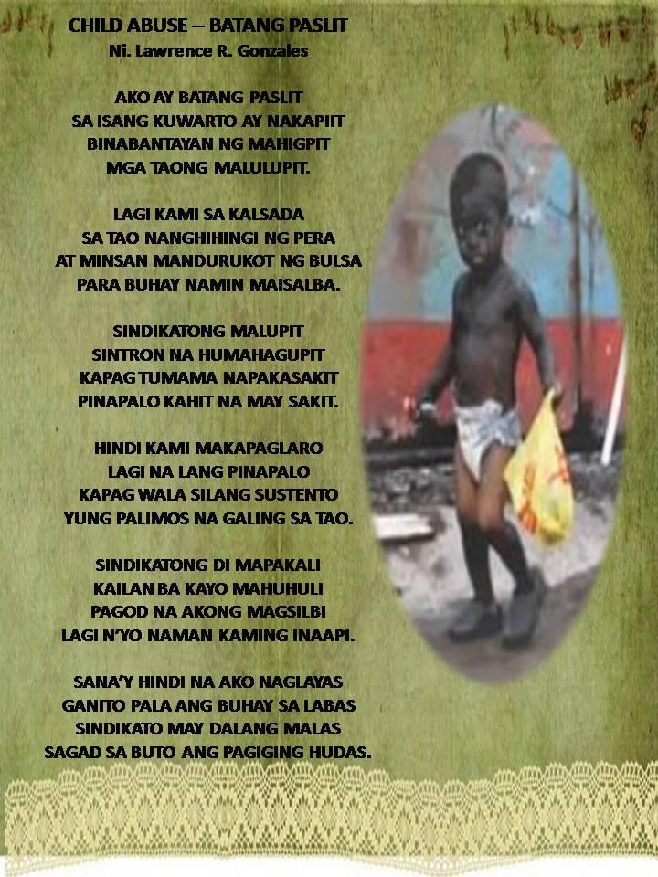 Makatang Pinoy - Tagalog Poems: Batang Paslit