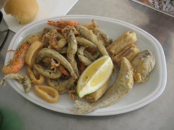 Menorca.- Fritada de pescado