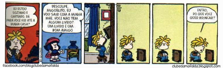 Clube da Mafalda: Tirinha 587