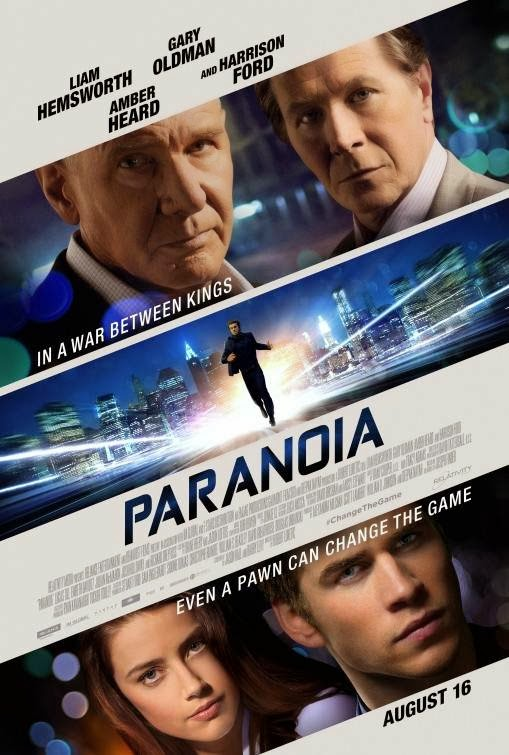Poster Of English Movie Paranoia (2013) Free Download Full New Hollywood Movie Watch Online At alldownloads4u.com
