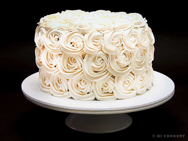 Mystical Rosette Ombr 233 Cake Hi Cookery