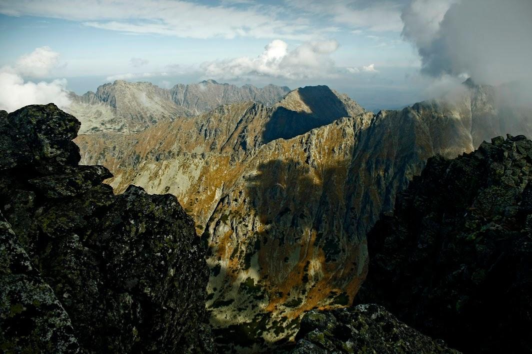 Widok z Hrubego Wierchu