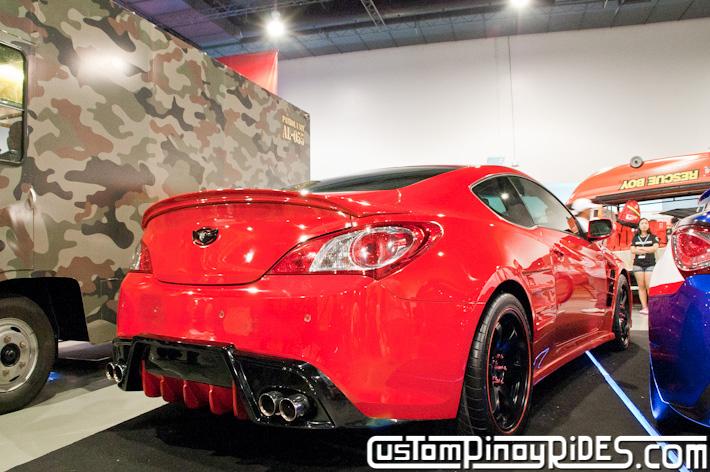 Hyundai Genesis Coupe Body Kit Designs by Atoy Customs 2012 Manila Auto Salon Custom Pinoy Rides pic6