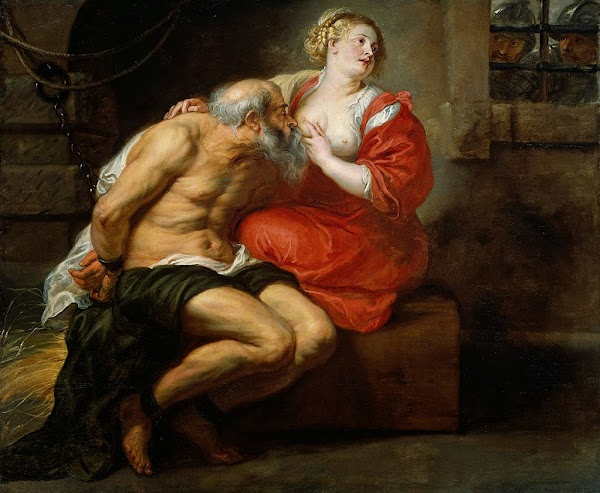 Peter Paul Rubens - Cimon and Pero (Roman Charity)
