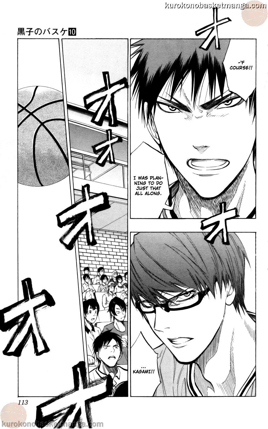 Kuroko no Basket Manga Chapter 86 - Image 07