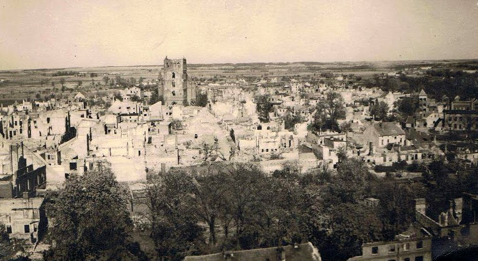Arnswalde po wojnie.
