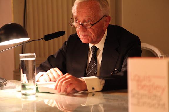 """Louis Begley liest aus """"Schmidts Einsicht"""""""