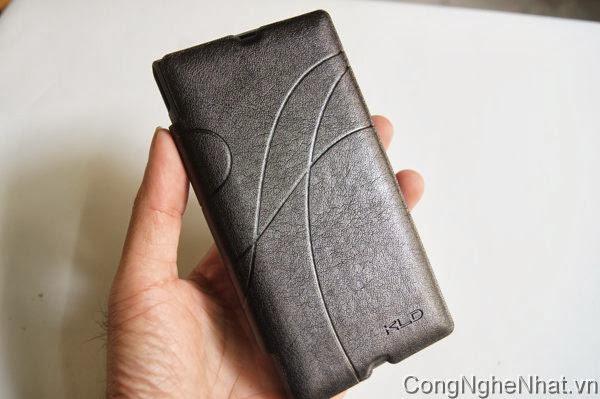 Bao da Sony Xperia Z (SO-02E) mềm và đẹp