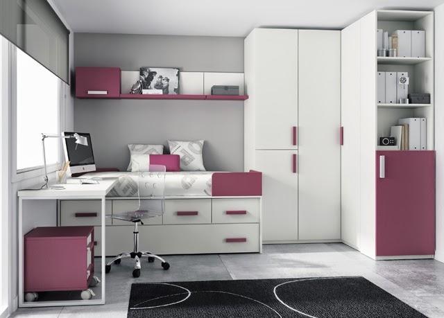 Este modelo de cama compacta con cama arriba cajones - Habitaciones con dos camas ...