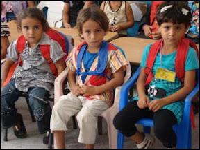 Gaza: orphans in Khan Yunis