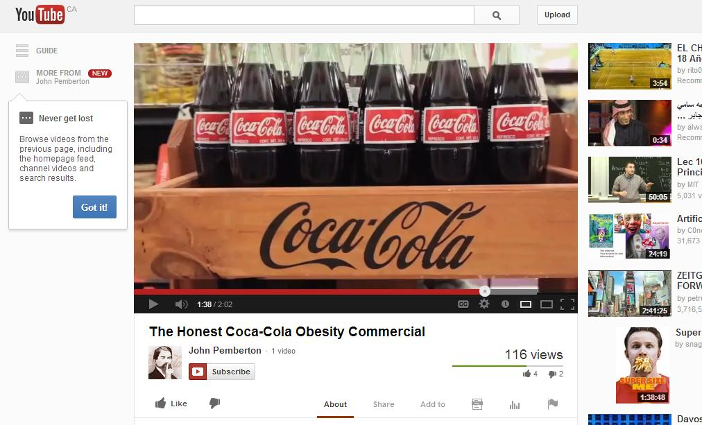 John Pemberton Back From The Dead and Slams Coca-Cola In Video On His Very Own YouTube Channel