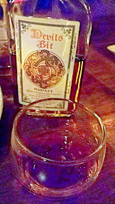 Sip of Devil's Bit Whiskey