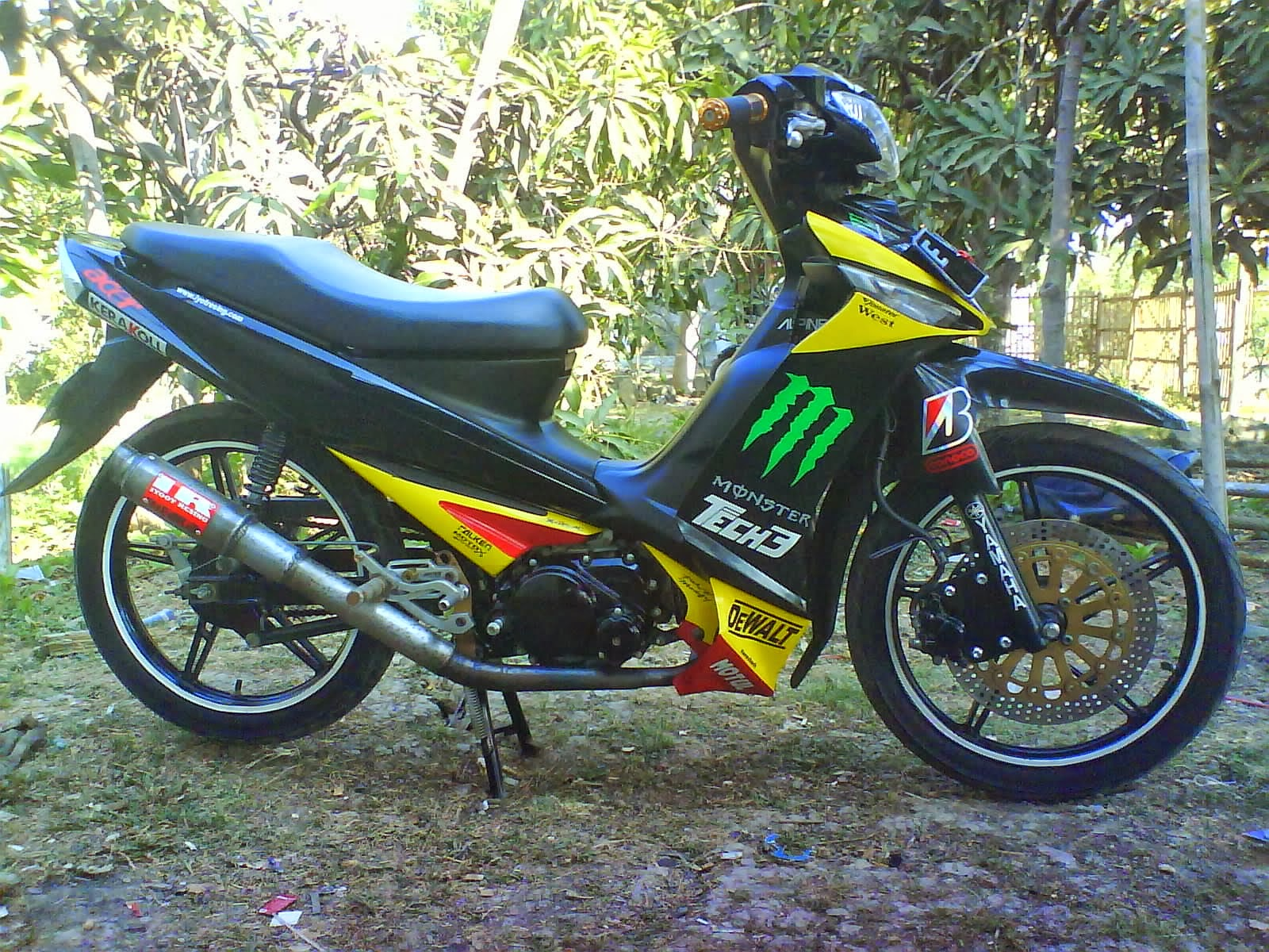 modifikasi vega r 2005