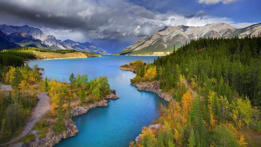 Channel of Color, Abraham Lake, Banff National Park, Alberta.jpg
