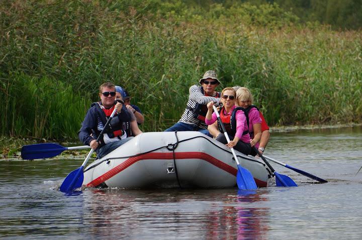 Parvematk rafting Võhandu jõel