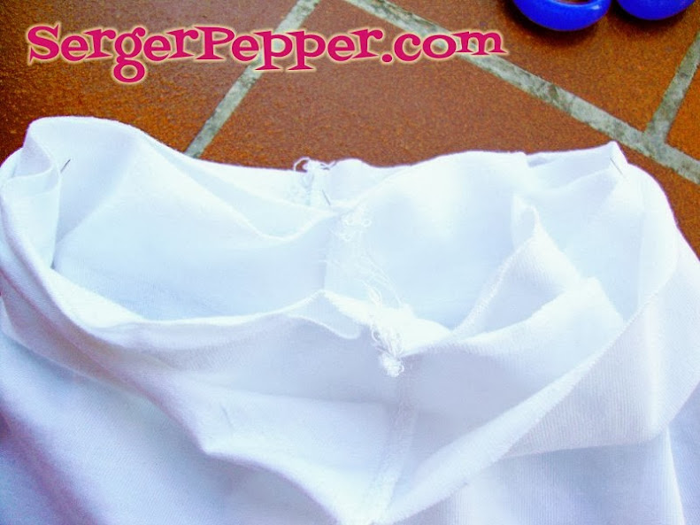Serger Pepper - Ruffled Leggings - add waistband