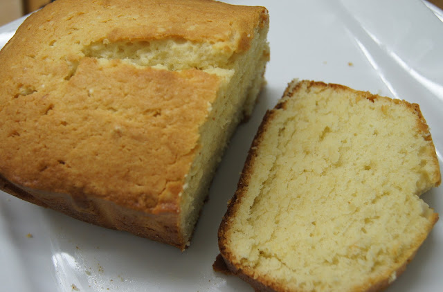 Vanilla Loaf Cake With Oil