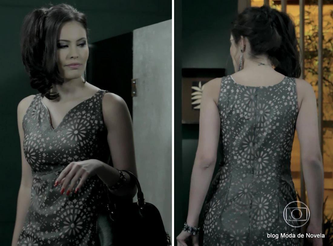 moda da novela Império, look da Carmen dia 19 de novembro de 2014