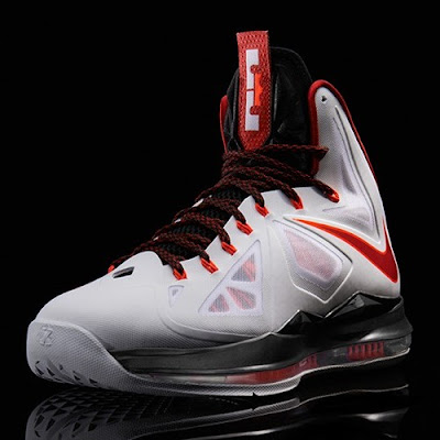 nike lebron 10 gr miami heat home 6 02 Release Reminder: Nike LeBron X MIAMI HEAT Home