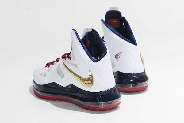 An EyeCandy Look at LeBron X USAB 8220United We Rise8221 Limited Edition