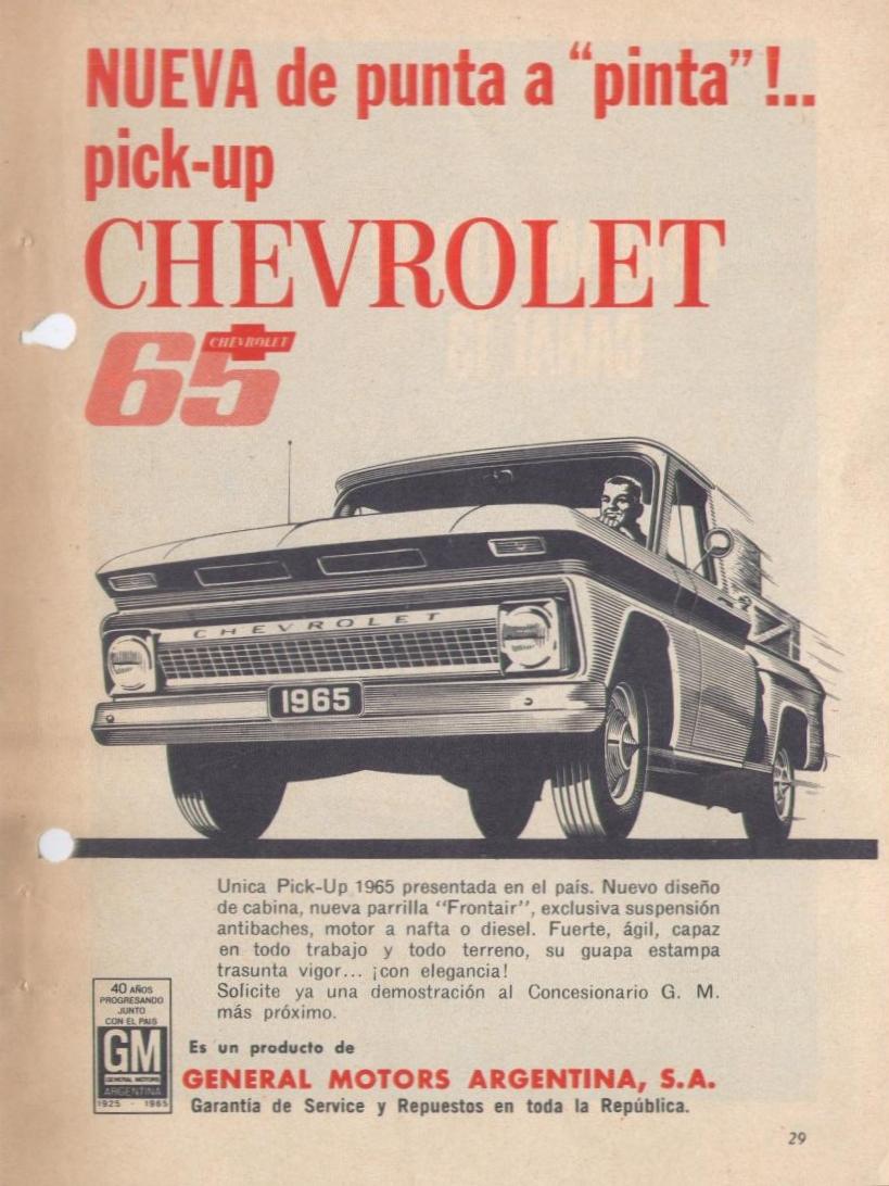 Archivo De Autos La General Motors En Argentina Light Sensorldr Ofalightsensorcircuitwhenthelight Symbol3sir Selecciones Readers Digest Junio 1965