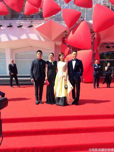 """2014.08.28[LHP VENICE 71]_Triệu Vy tại lễ công chiếu phim """"Thương Yêu Nhất"""""""