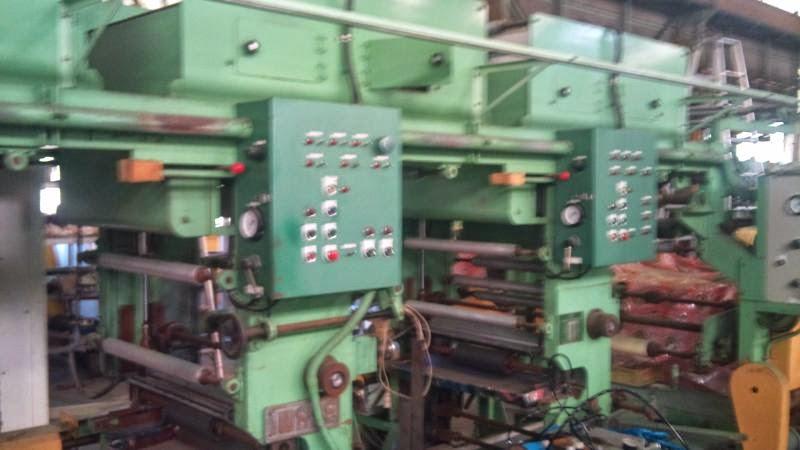 イワセ製 グラビア輪転印刷機 3色