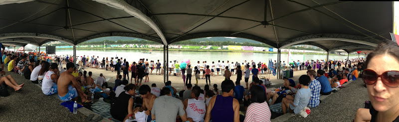 Dragon Boat Race Panorama