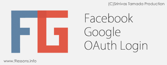 Facebook Google OAuth Login
