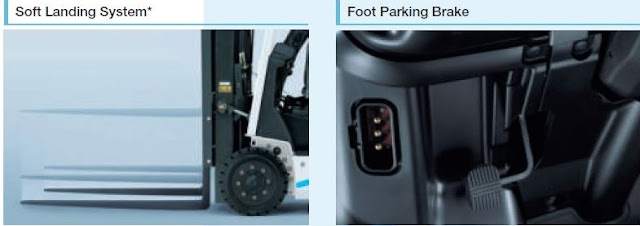Nissan forklift - easy to operate