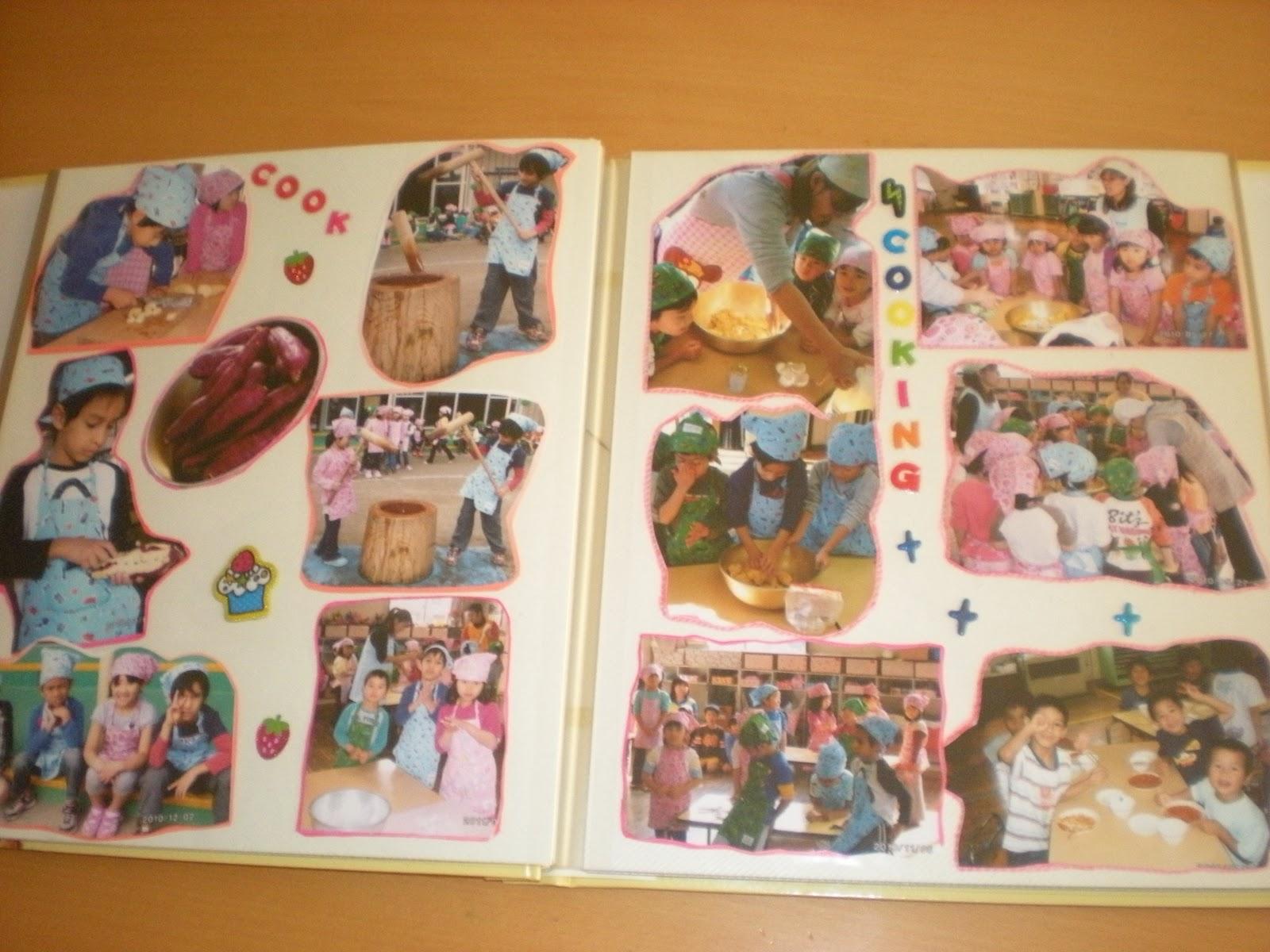 Japon y yo - Decorar album de fotos por dentro ...