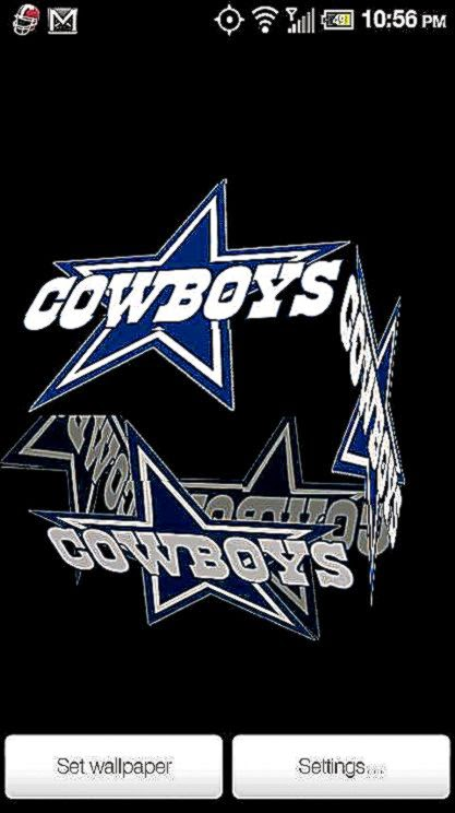 Cowboys Live Wallpaper PRO   Android Informer Dallas Cowboys 3D