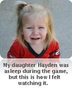 Crying Hayden