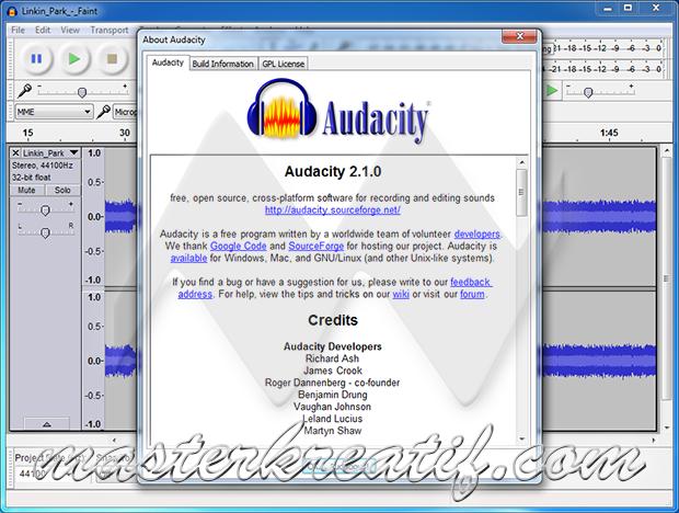 Audacity 2.1.0