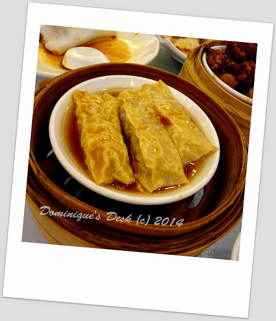 Fried beancurd skin with meat inside