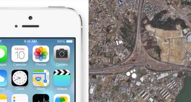 iOS7とクロソイド曲線