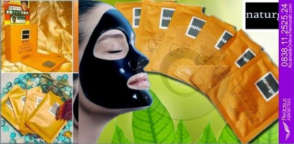 Masker Memutihkan Wajah, Masker Jerawat, Naturgo Shiseido, 0819.4633.0746 (XL)